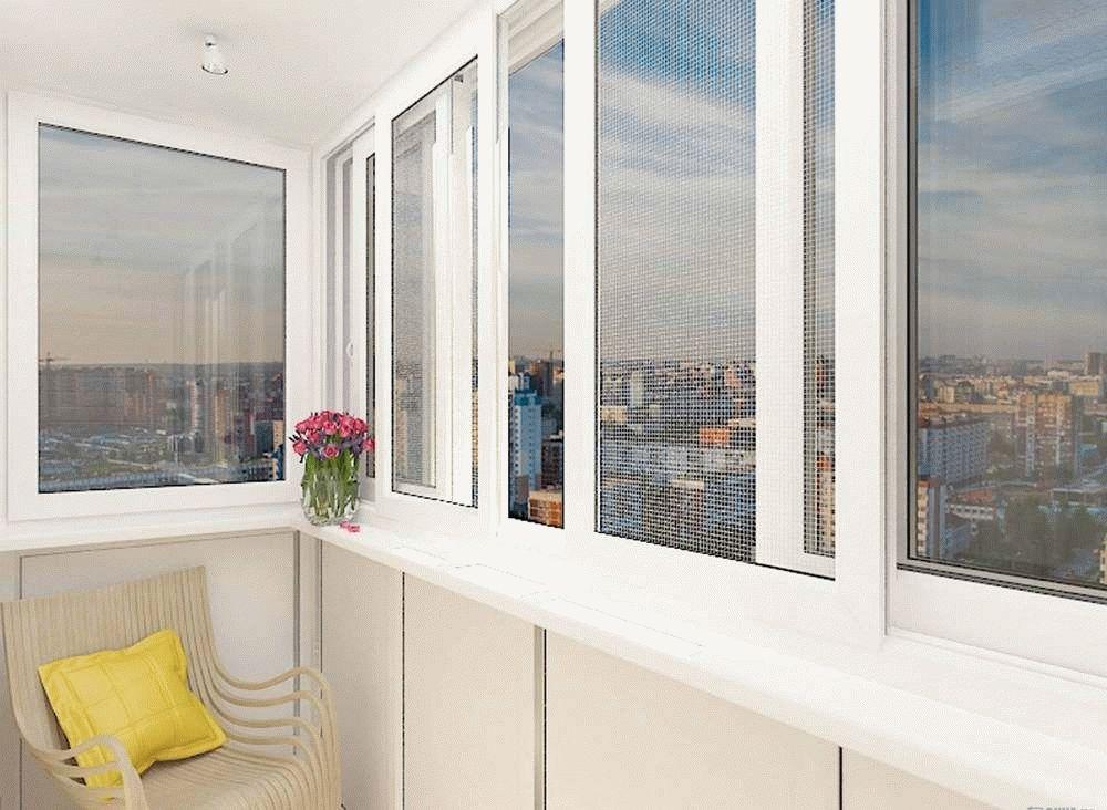 Алюминиевое остекление балконов: особенности и преимущества