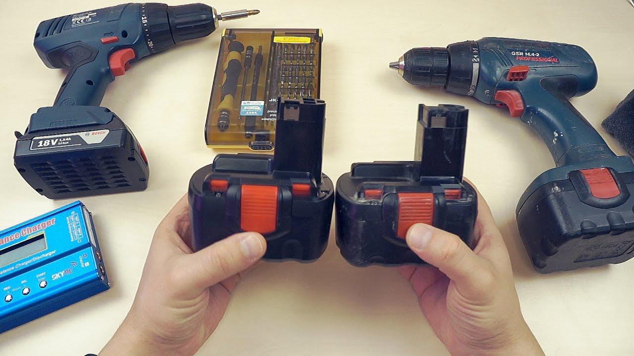 Как сохранить аккумуляторные батареи инструментов