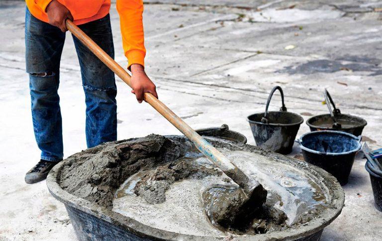 Как приготовить бетонную смесь для заливки смеси бетонные бсг в7 5 п3