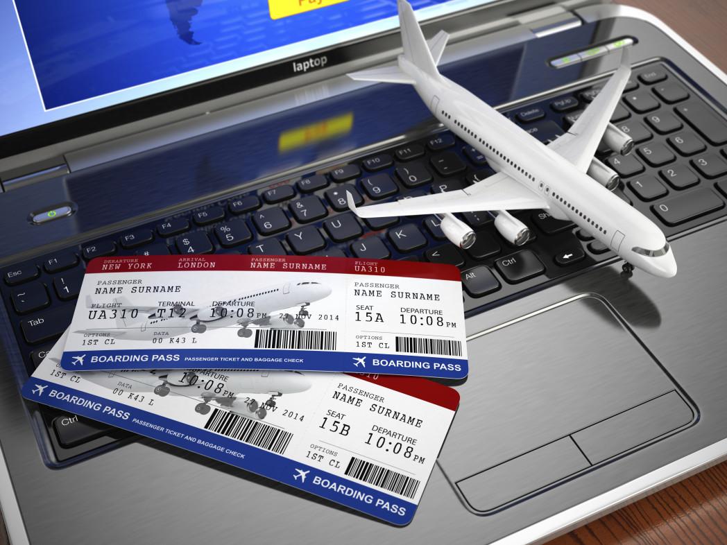 Покупка билета на самолет в интернете