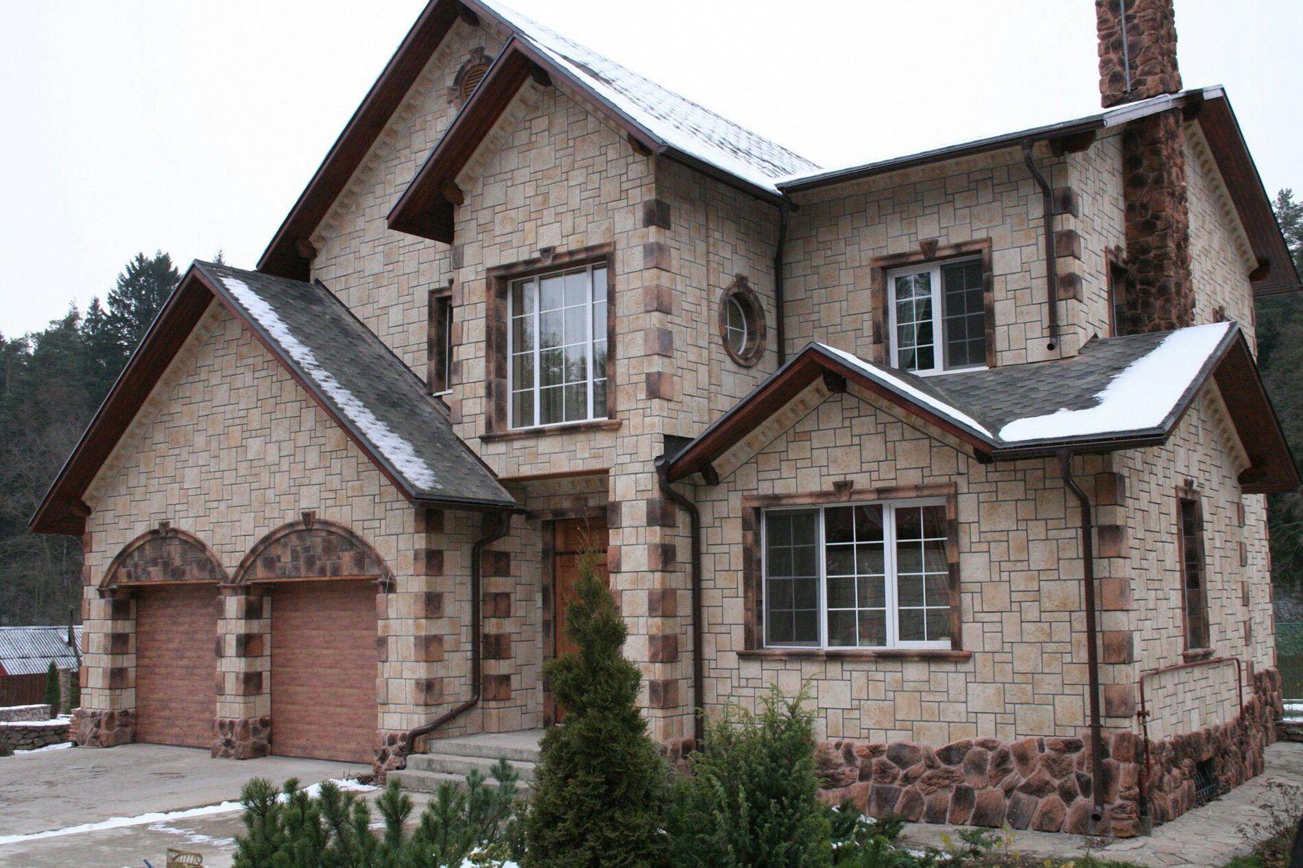 Преимущества каменного фасада