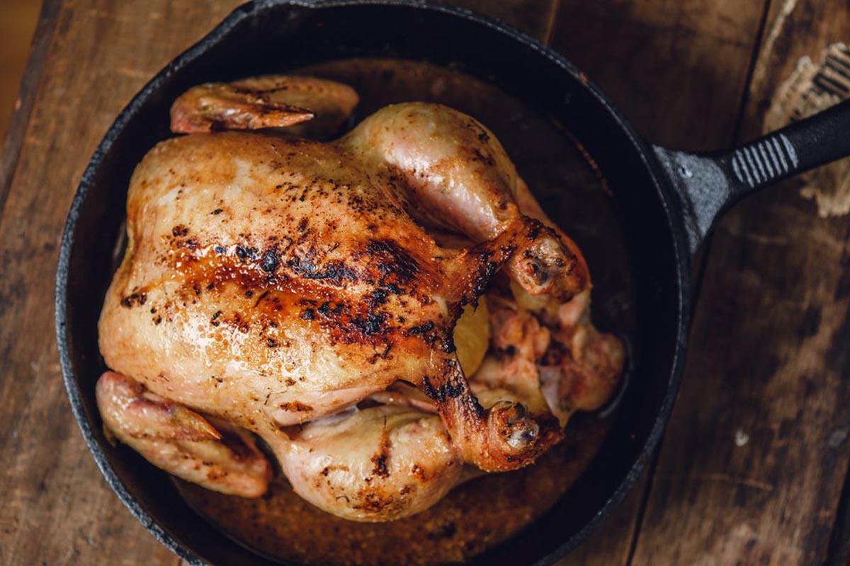 Как жарить курицу